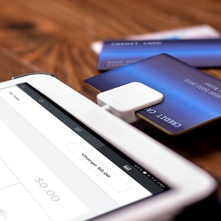 Mobile Phone Card Swipe Reader Equipment Page